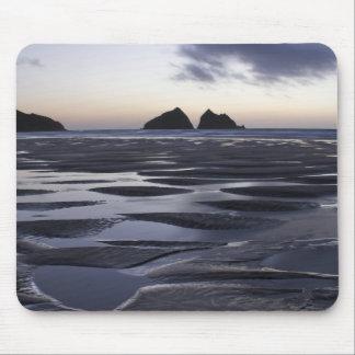 Gull Rocks, Holywell Bay, Cornwall, UK Mouse Pads