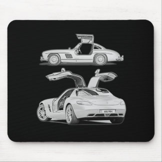 Gull Wing Then and Now Mouse Pad