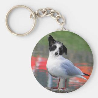 Gulldog Basic Round Button Keychain