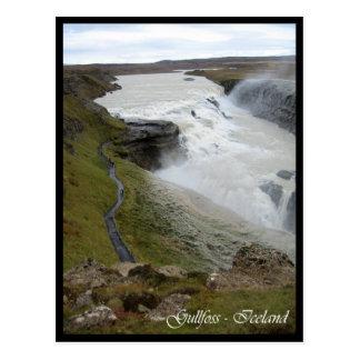 Gullfoss Postcard