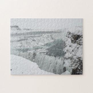 Gullfoss Waterfall, Iceland Jigsaw Puzzle