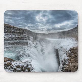 Gullfoss Waterfall, Iceland Mouse Pad