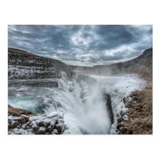 Gullfoss Waterfall, Iceland Post Cards