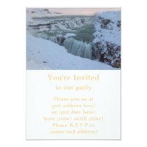 Gullfoss Waterfall in Iceland Card