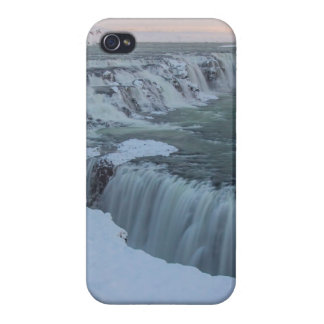 Gullfoss Waterfall in Iceland iPhone 4 Case