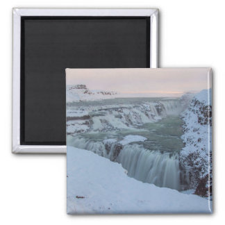 Gullfoss Waterfall in Iceland Magnet