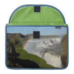 Gullfoss waterfall in summer MacBook pro sleeve