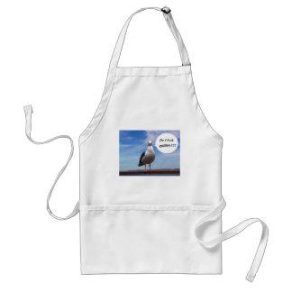 gullible seagull adult apron