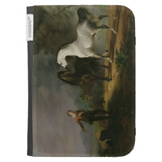 Gulliver Addressing the Houyhnhnms, 1769 (oil on c Kindle Folio Cases