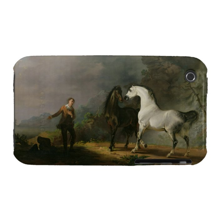 Gulliver Addressing the Houyhnhnms, 1769 (oil on c Case-Mate iPhone 3 Case
