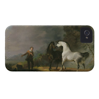 Gulliver Addressing the Houyhnhnms, 1769 (oil on c Case-Mate iPhone 4 Case