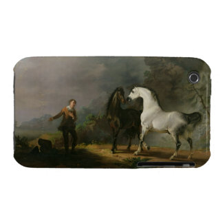 Gulliver Addressing the Houyhnhnms, 1769 (oil on c iPhone 3 Case-Mate Cases