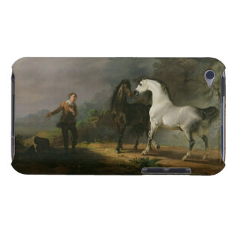 Gulliver Addressing the Houyhnhnms, 1769 (oil on c iPod Case-Mate Case