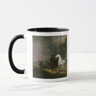 Gulliver Addressing the Houyhnhnms, 1769 (oil on c Mug