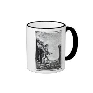 Gulliver amongst the Lilliputians Ringer Mug
