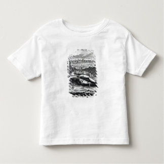 Gulliver captured by the Lilliputians T Shirt