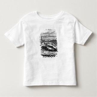 Gulliver captured by the Lilliputians Toddler T-shirt