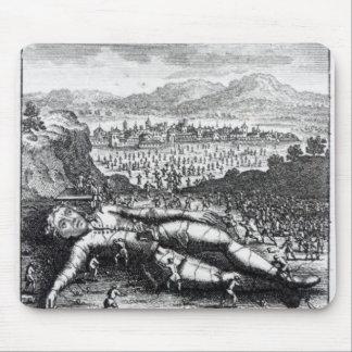 Gulliver capturó por los Lilliputians Mousepads