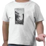 Gulliver entre los Lilliputians Camiseta