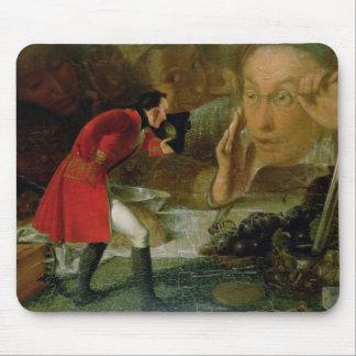Gulliver exhibió al granjero de Brobdingnag Alfombrilla De Ratones
