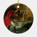 Gulliver exhibió al granjero de Brobdingnag Adorno De Navidad