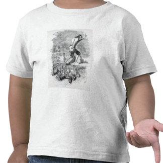 Gulliver que roba la flota de Blefuscudian Camiseta