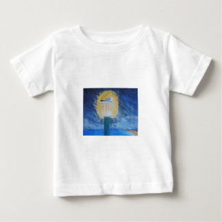 Gulliver Seagull On Lamppost Baby T-Shirt