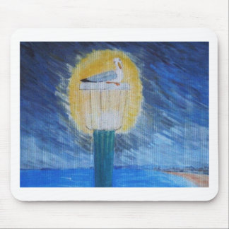 Gulliver Seagull On Lamppost Mouse Pad