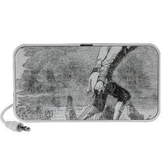 Gulliver stealing the Blefuscudian fleet Notebook Speaker