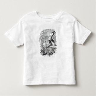 Gulliver stealing the Blefuscudian fleet Toddler T-shirt
