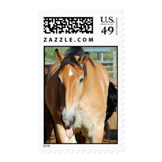 Gulliver Tongue Out Postage