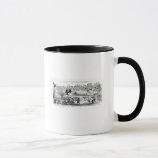 Gulliver transported to the Lilliputian Mug