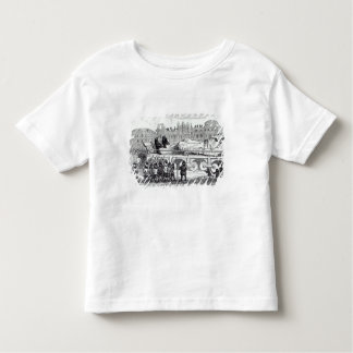 Gulliver transported to the Lilliputian Toddler T-shirt