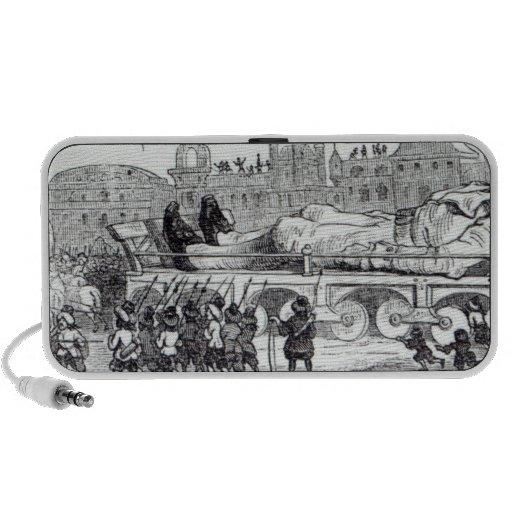 Gulliver transportó al Lilliputian Altavoces De Viaje