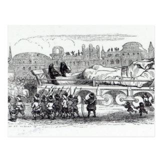 Gulliver transportó al Lilliputian Postal