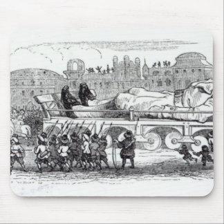 Gulliver transportó al Lilliputian Tapete De Ratón