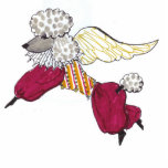 Gulliver's Angel Ornament Photo Cut Out