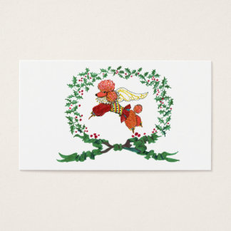 Gulliver's Angels Apricot Poodle Gift Tag