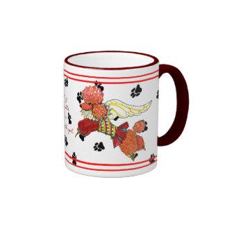 Gulliver's Angels Apricot Poodle Mug