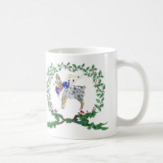 Gulliver's Angels Australian Shepherd Holiday Mug