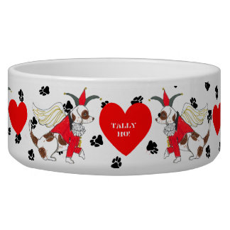 Gulliver's Angels Beagle Dog Bowl