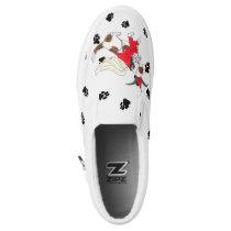 Gullivers Angels Beagle Slipon Dog Walking Slip-On Sneakers