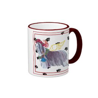 Gulliver's Angels Bearded Collie Mug