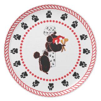 Gulliver's Angels Bone Appetit Dinner Plate