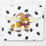 Gulliver's Angels Bulldog Mousepad
