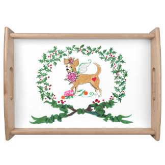 Gulliver's Angels Chihuahua Serving Tray