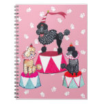 Gulliver's Angels Circus Poodle Notebook