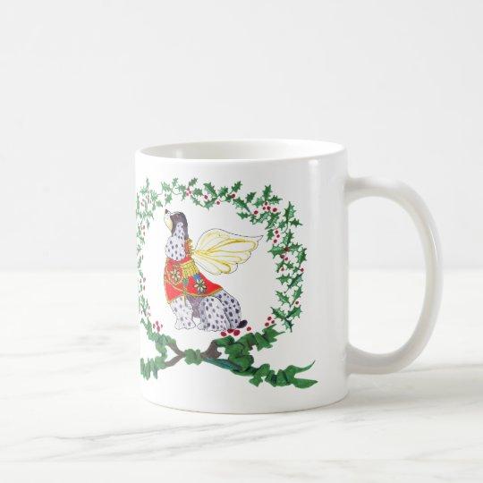 Gulliver's Angels Cocker Holiday Barker Mug