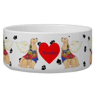 Gulliver's Angels Cocker Spaniel Dog Bowl
