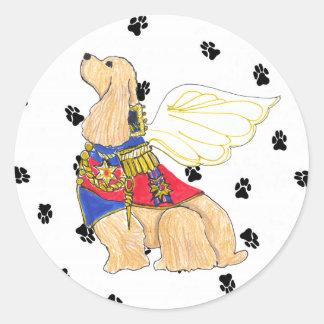 Gulliver's Angels Cocker Spaniel Sticker